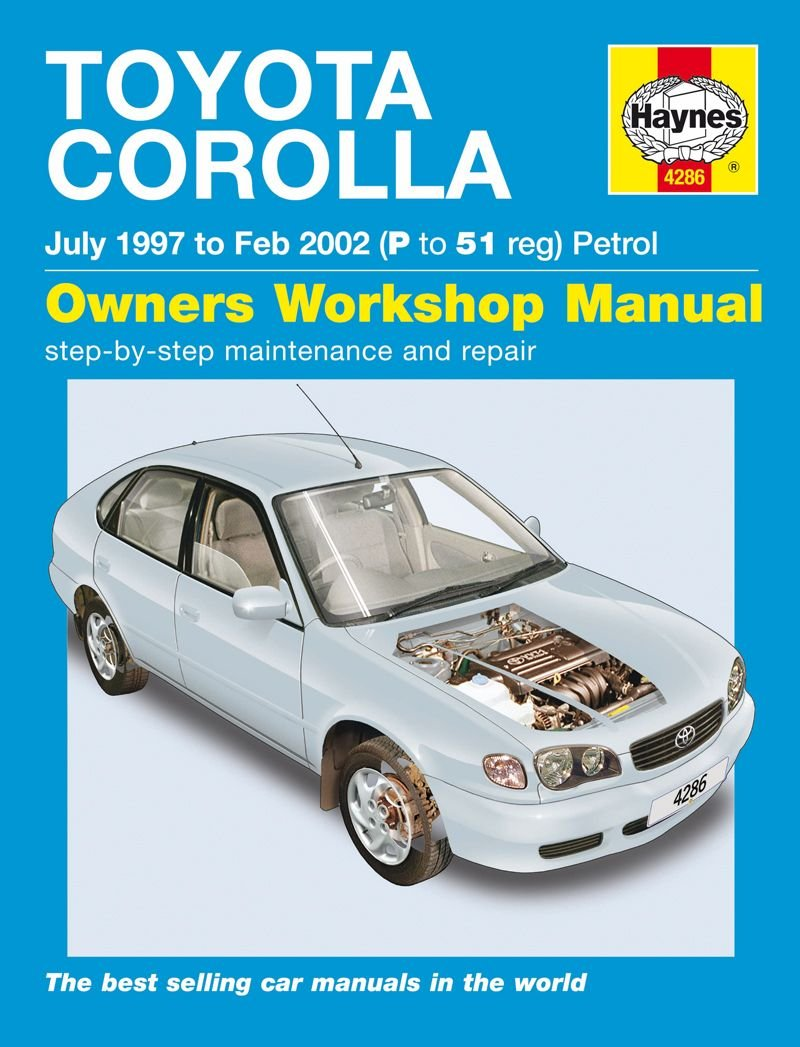 ... 1997 to 2002 ISBN 9781844252862 product image for Toyota Corolla Petrol  Service and Repair Manual | upcitemdb.com